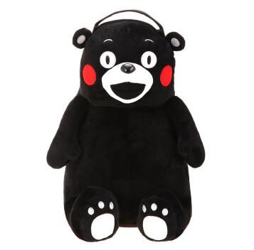 酷ma萌 kumamon 日本熊本熊双肩包,日本熊本县官方授权,可爱的熊本