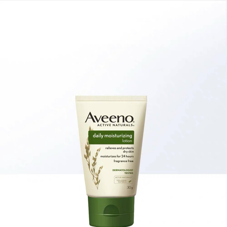 手慢无!Aveeno艾惟诺 天然燕麦 每日倍护润肤乳(无香型)30g2.11元包邮(需用券)