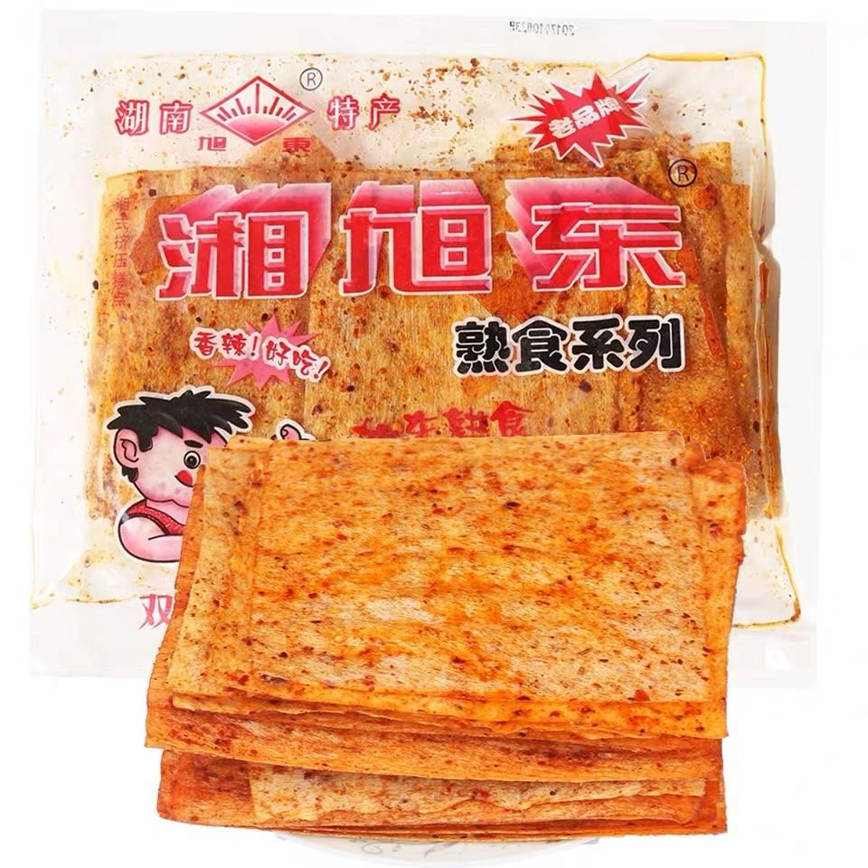 童年的回忆:湖南特产 湘旭东 老式大辣片 128g    低至2.84元/包