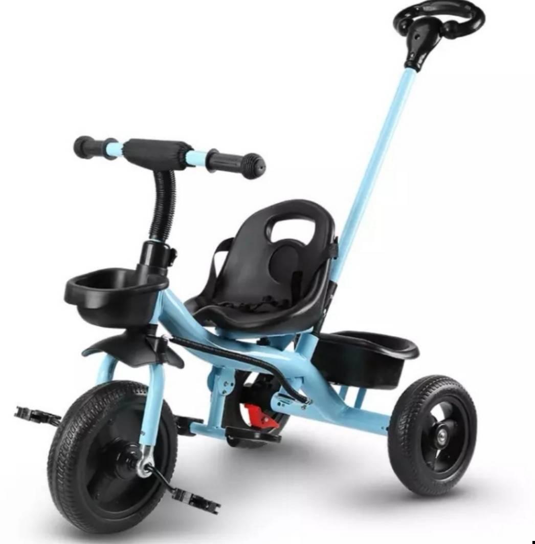 儿童三轮车 脚踏手推车 骑士蓝(1-6岁)