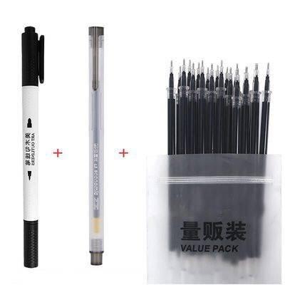 M&G 晨光 中性笔1支 含20支笔芯 赠勾线笔 (笔芯非晨光)    1.9元包邮(需用券)