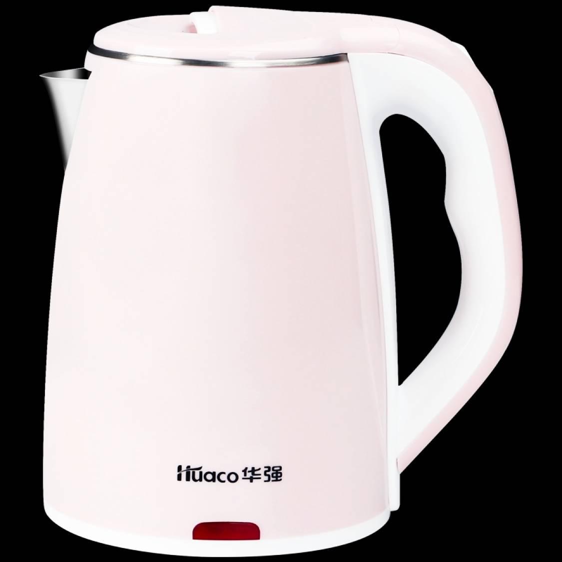 华强 电热水壶 304不锈钢 烧水壶1.8L 29.9元(需用券)