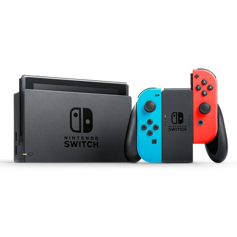 5日10点:Nintendo 任天堂 Switch 国行续航加强版 NS家用游戏机 红蓝主机1599元包邮(需用�唬�