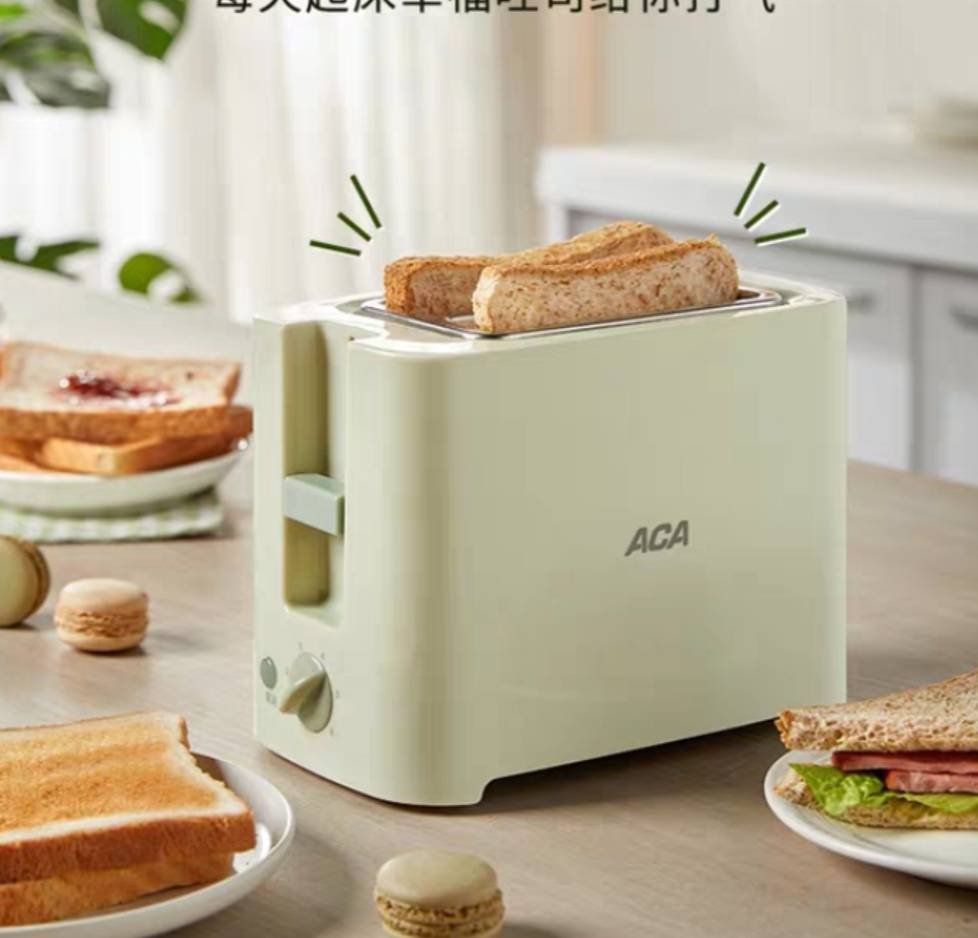 ACA烤面包片机 69元包邮