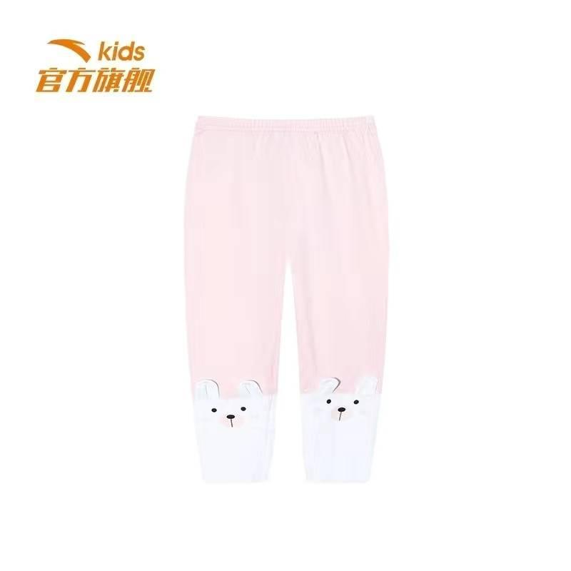 3号12点:安踏 女童 运动长裤 薄款 A36019715