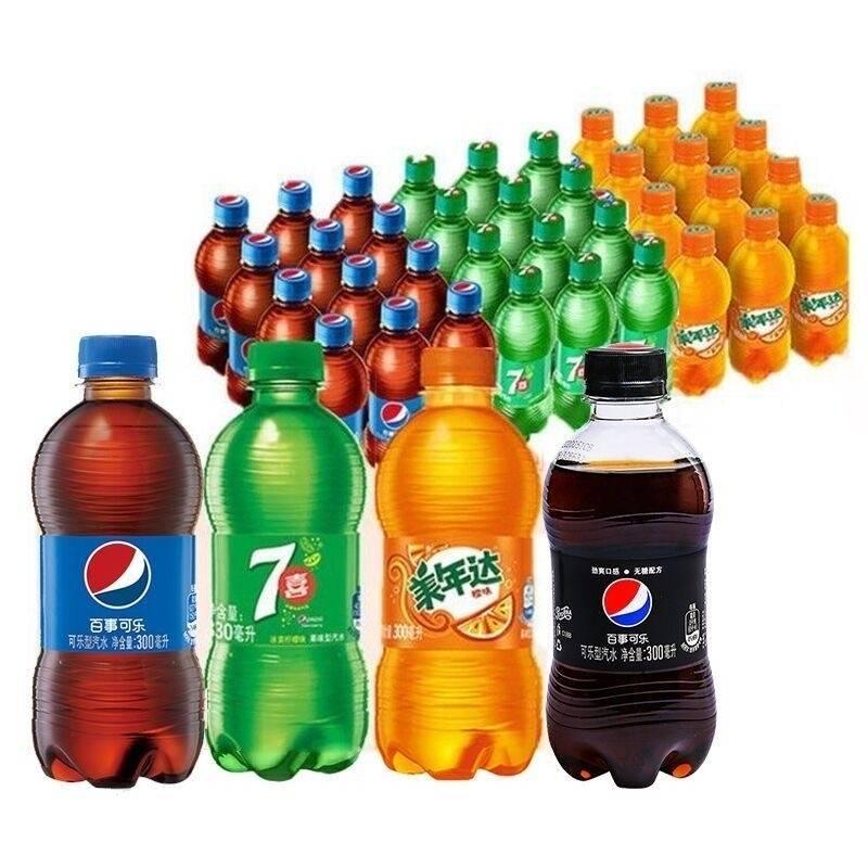 百事可乐/七喜/橙味美年达 300ml*12瓶 16.9元包邮