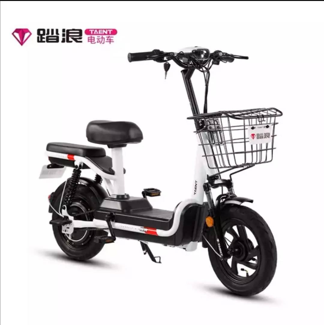 踏浪(TAENT)电动自行车    1099元包邮