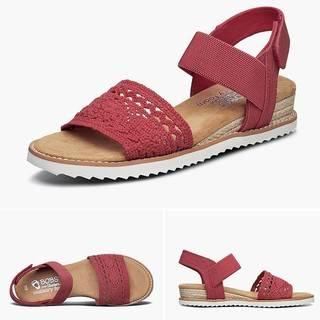 12日0点:Skechers 斯凯奇 732869 女士一字带凉鞋