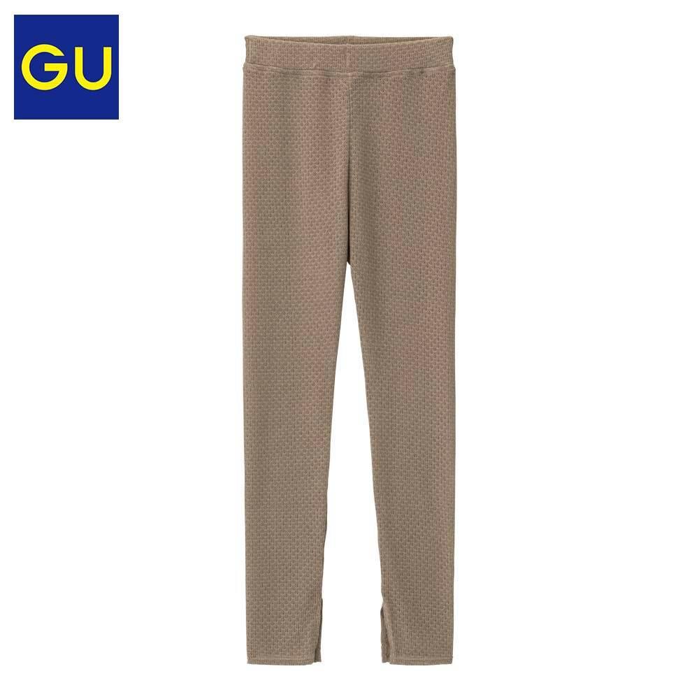 限尺码:GU极优 315347 女士蕾丝 紧身打底裤