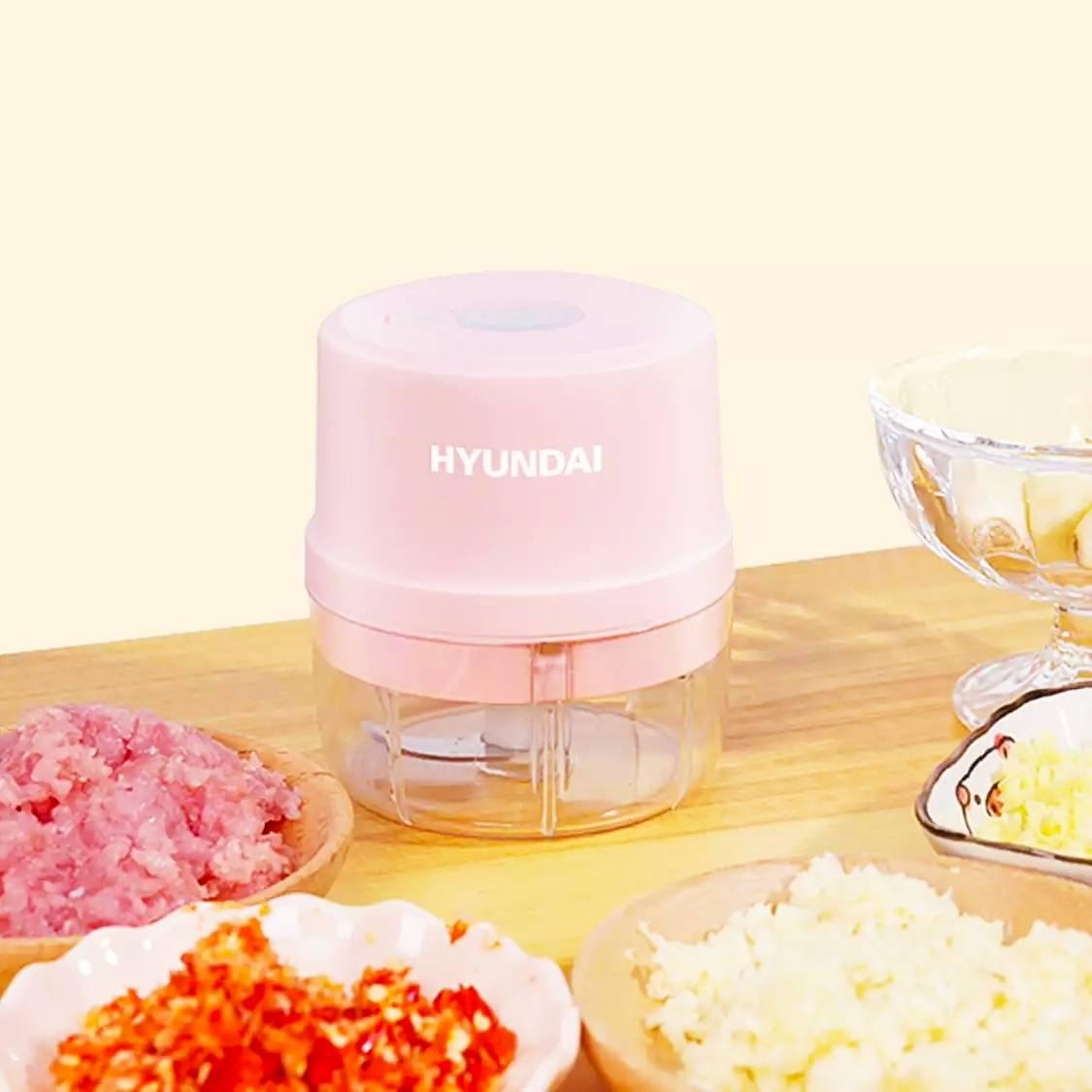 HYUNDAI/韩国现代 绞肉机 不锈钢杯 单刀39元(需用券)