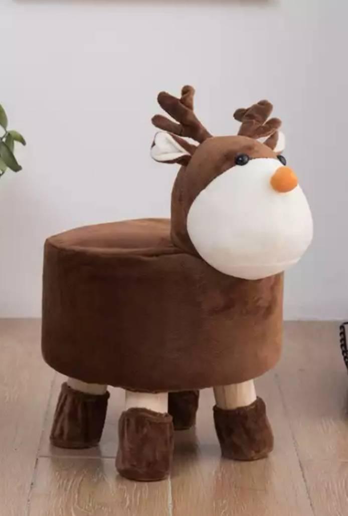 布兰格迪 卡通动物 实木换鞋凳29.9元包邮(需用券)