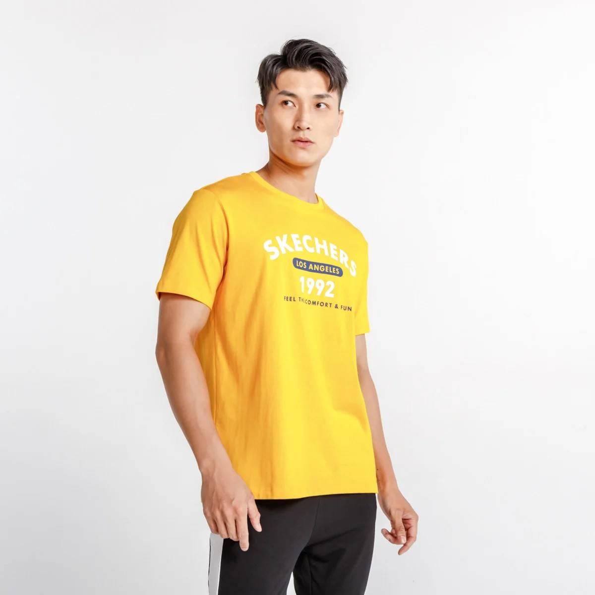 SKECHERS 斯凯奇 男士 运动T恤 *2件    90元包邮(折45元/件)