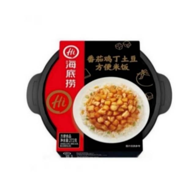 海底捞 番茄鸡丁土豆方便米饭 272g*1碗 *3件39.9元包邮(13.3元/件)
