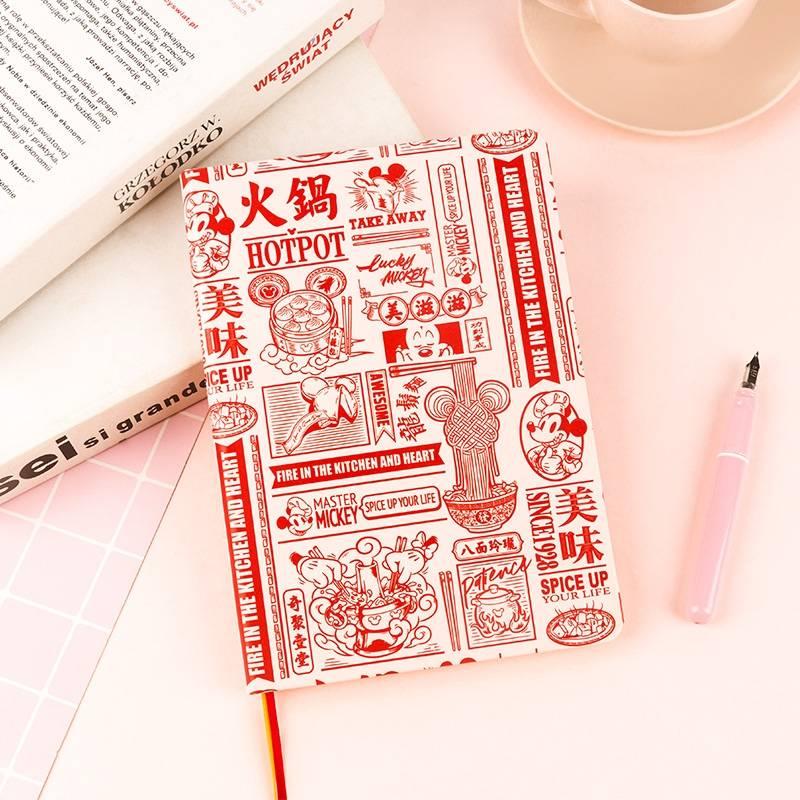 kinbor 广博 IMQ91211-DR 迪士尼系列 A5皮面手帐计划本    10元包邮(需用券)