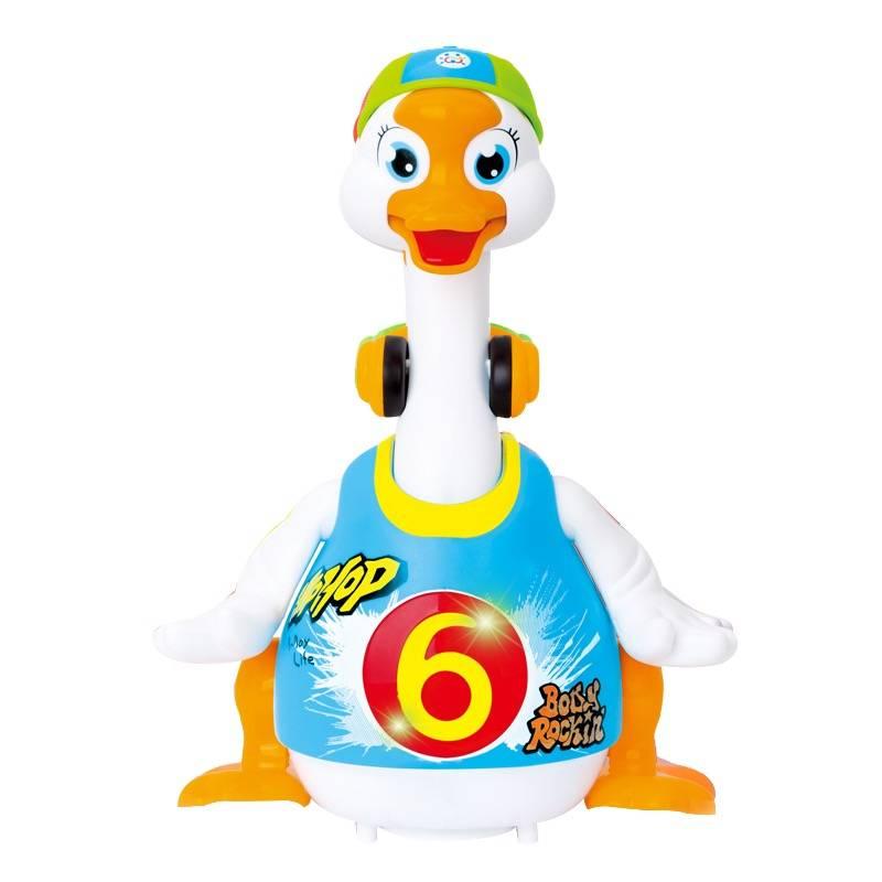 京东PLUS会员:Huile TOY'S 汇乐玩具 电版摇摆鹅 可充电版64元包邮(慢津贴后63元)