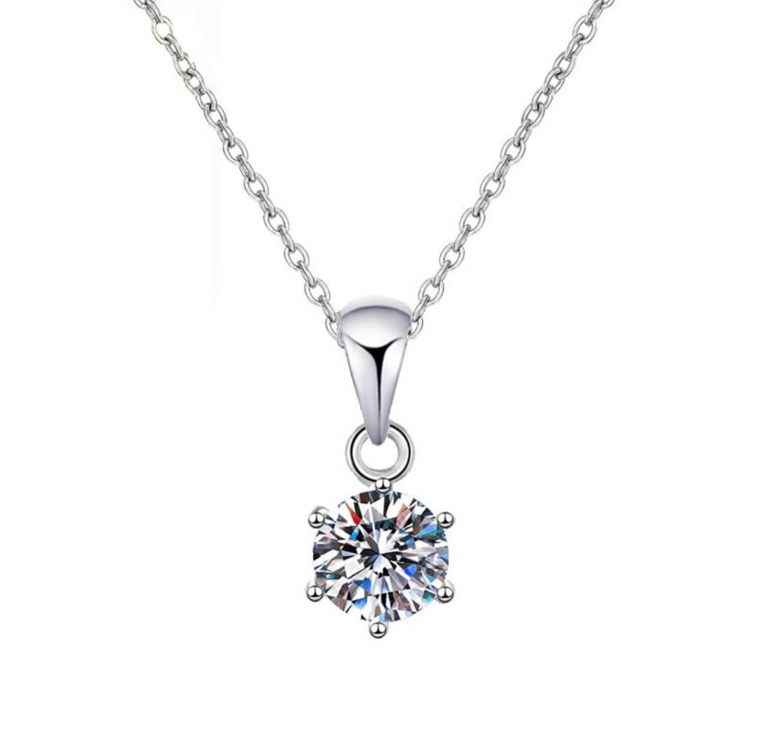 LAVIE 拉薇 锆石银项链 7.1元包邮(需用�唬�
