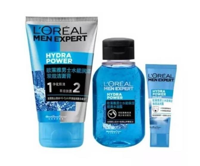 京东PLUS会员:LOREAL PARIS 巴黎欧莱雅 水能保湿护肤体验装18.9元