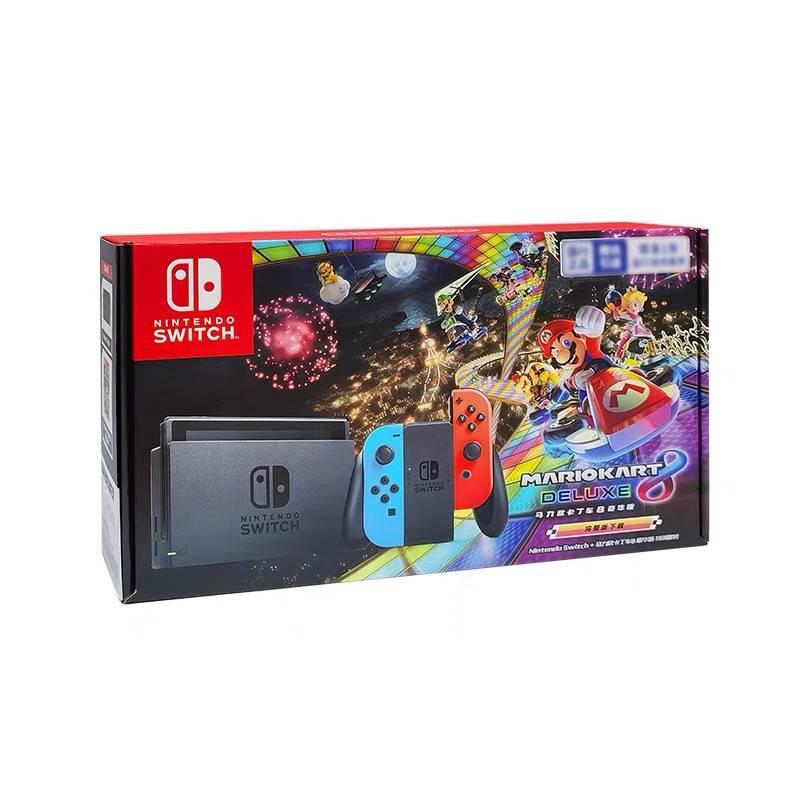 聚划算百亿补贴:Nintendo 任天堂 国行 Switch游戏主机 续航增强版+《马力欧赛车8》套装 1749元包邮(需用券)