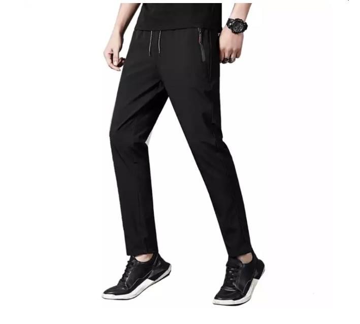 PLUS会员:YALU 雅鹿 男士冰丝运动休闲裤 30元包邮(需用�唬�