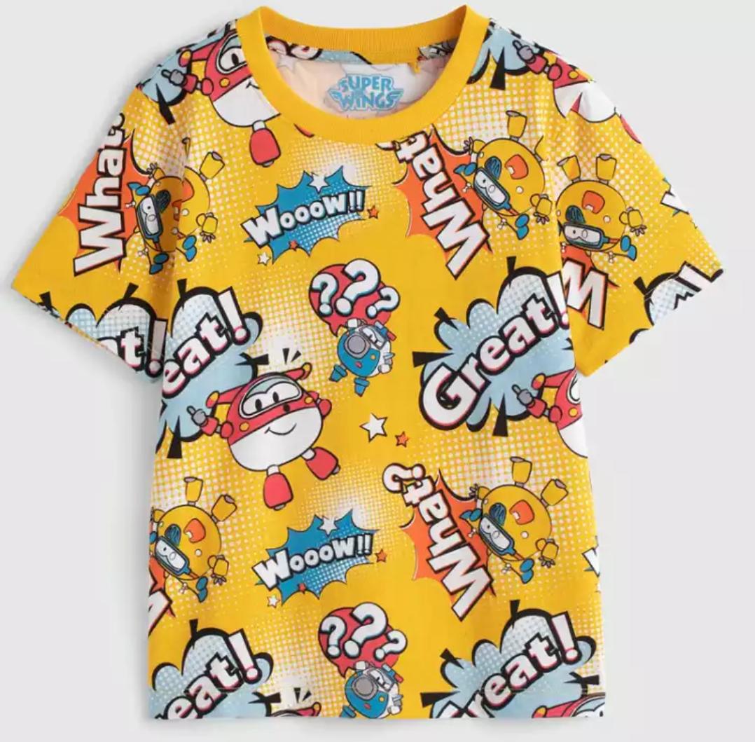 Baleno 班尼路 8721101B400 男童超级飞侠印花T恤