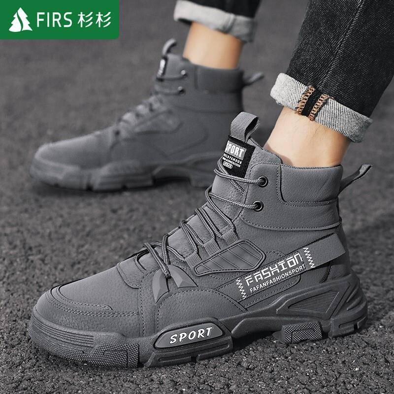 杉杉FIRS 高帮靴马丁靴 108元(需用券)