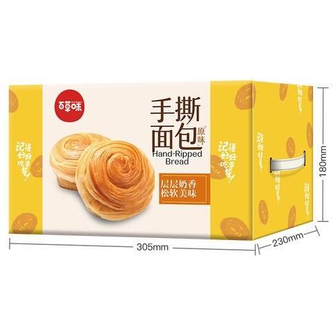 京喜APP:Be&Cheery 百草味 手撕面包 1kg T精选