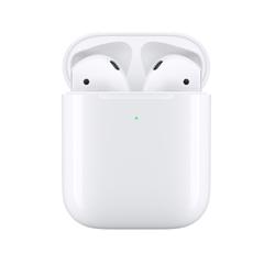 拼多多百亿补贴:Apple 苹果 AirPods(二代)真无线蓝牙耳机 有线充电盒版 T精选759元 包邮