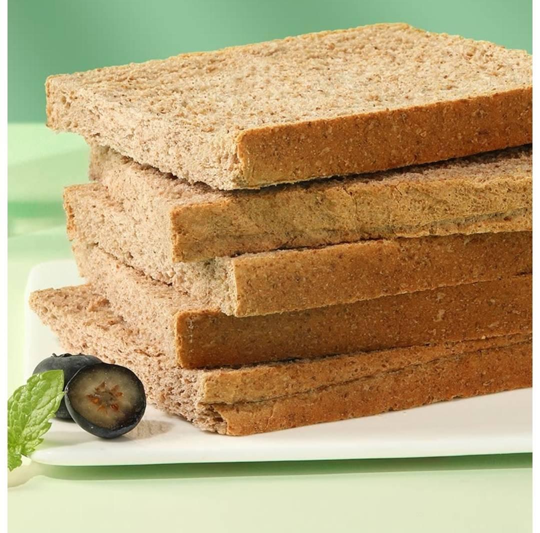 闭眼买:良品铺子 低脂全麦面包整箱装 黑麦吐司1000g x1箱 T精选    12.9元(补贴后11.9元)