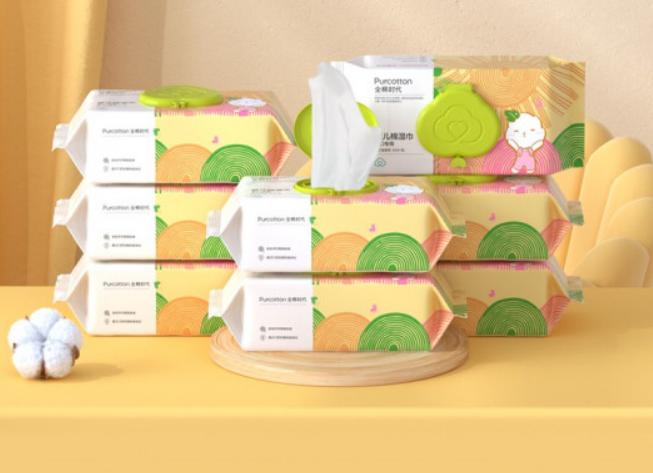 PLUS会员:Purcotton 全棉时代 婴儿湿巾 80片8包*2件 184.81包邮需用券(折合92.41元/件)(补贴后88.25元)