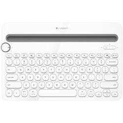 Logitech 罗技 k480 79键 无线蓝牙键盘 白色 无光129元