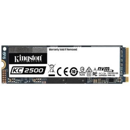 学生专享:Kingston 金士顿 KC2500 NVMe M.2 固态硬盘 500GB (PCI-E3.0)
