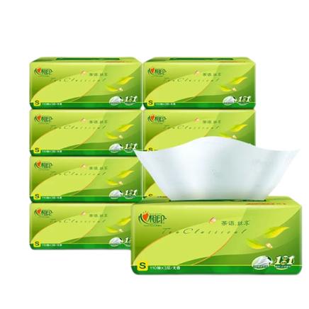 京东极速版:心相印抽纸 茶语系列 3层110抽 5包