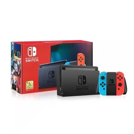 聚划算百亿补贴:Nintendo 任天堂 国行 Switch游戏主机 续航增强版1645元包邮(需用券)