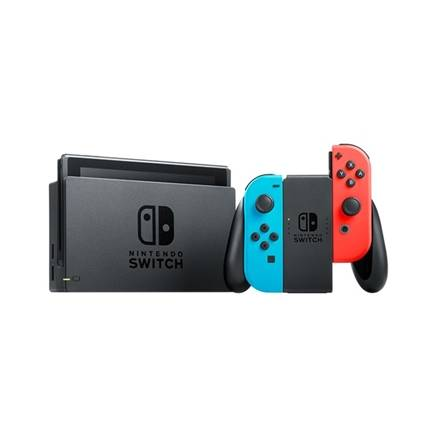 拼多多百亿补贴:Nintendo 任天堂 国行 Switch游戏主机 续航增强版 红蓝1599元包邮