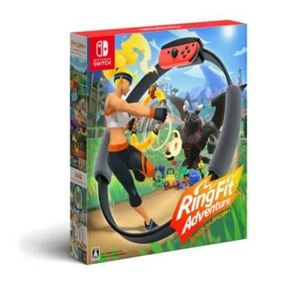 拼多多百亿补贴:Nintendo 任天堂 海外版 Switch体感游戏套装 《健身环大冒险》中文456元 包邮