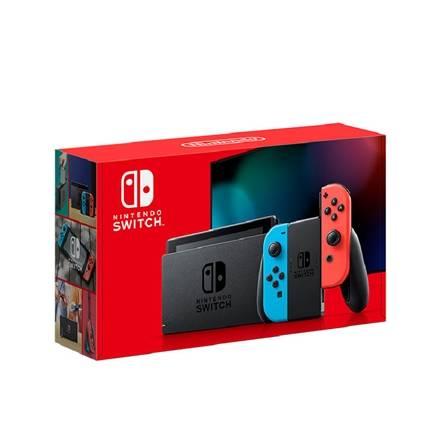 Nintendo 任天堂 海外版 Switch游戏主机 续航增强版 红蓝1888元包邮