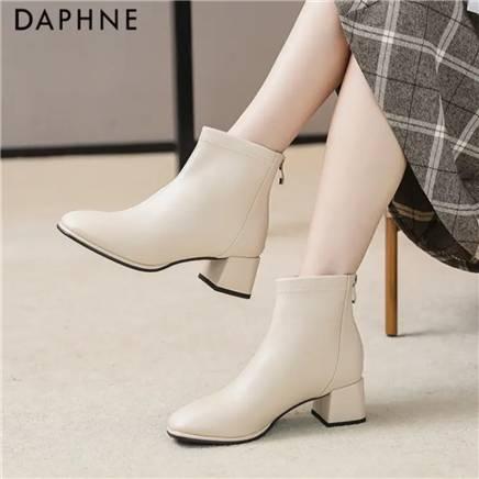 达芙妮 DAPHNE 马丁靴女 秋冬 169元包邮(补贴后161.39元)