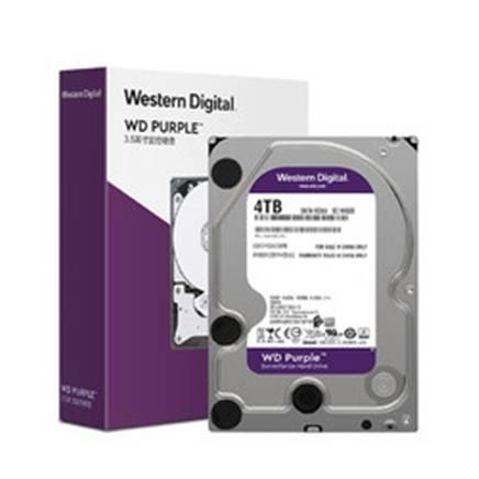 24日0点:Western Digital 西部数据 监控机械硬盘 紫盘 4TB 456.9元
