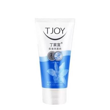 凑单品:丁家宜(TJOY)控油深层清洁 去黑头去角质 洗面奶 120g 6元(需用券)