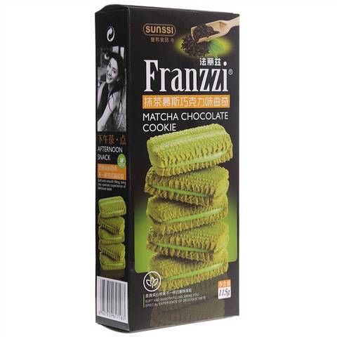 法丽兹 抹茶慕斯巧克力味 曲奇饼干 115g/盒*5件 14.65元+运费(合2.93元/件)