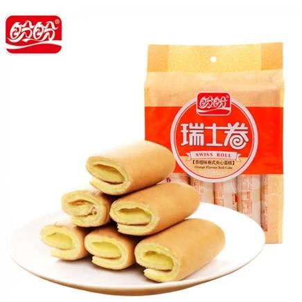 京东极速版:盼盼 瑞士卷 240g(香橙味) 3.9元包邮(需用券)