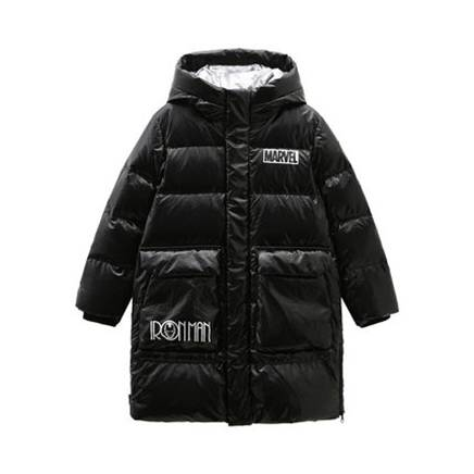 双11预售:BOSIDENG 波司登 漫威联名款 儿童长款羽绒服