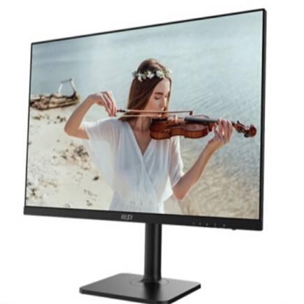 25日0点:MSI 微星 MD241P 23.8英寸显示器(1920×1080、75Hz) 899元
