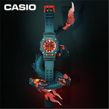 双11预售:CASIO 卡西欧 G-SHOCK 中华龙系列 男士腕表 GA-900DBR-3ADR    1370元包邮
