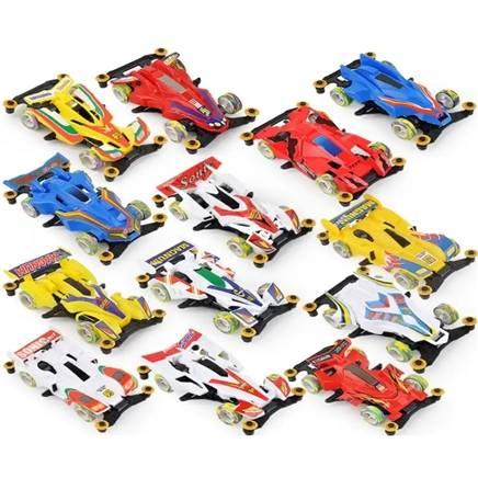 京东极速版:聚心尚品 四驱车玩具 diy四驱拼装玩具车-配2组电池 2元包邮(需用券)