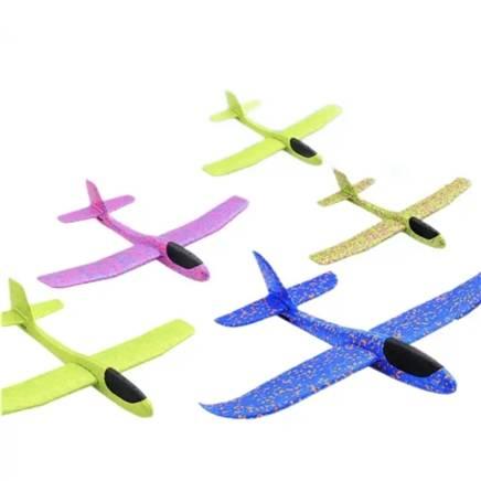 京东极速版:熊潘黛 48cm大号手抛飞机 2个 颜色随机 2元包邮(需凑单用券)