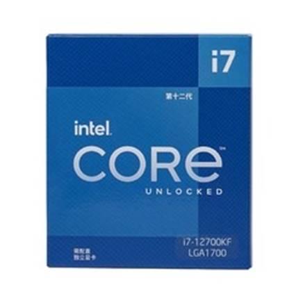 双11预售:intel 英特尔 i7-12700KF 台式机CPU处理器 2989元 包邮(需100元定金,4号21点30分付尾款)