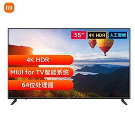 双11预售:MI 小米 A55 55英寸 4K HDR超高清 L55R6-A 电视 1799元包邮(需付定金20元,31号20点付尾款)