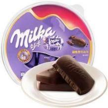 限华北:MILKA 妙卡 融情黑巧克力 252g*2件