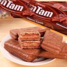 移动端:TimTam 雅乐思 原味巧克力/经典白巧克力夹心饼干 200g5.9元包税包邮(2人拼团价)